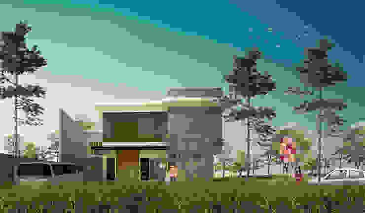 CDR HOUSE Rumah Tropis Oleh midun and partners architect Tropis