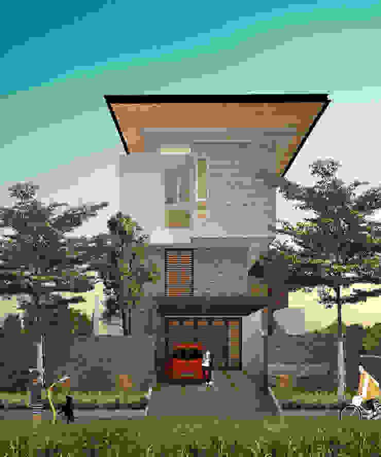 HRY HOUSE BALI Rumah Tropis Oleh midun and partners architect Tropis