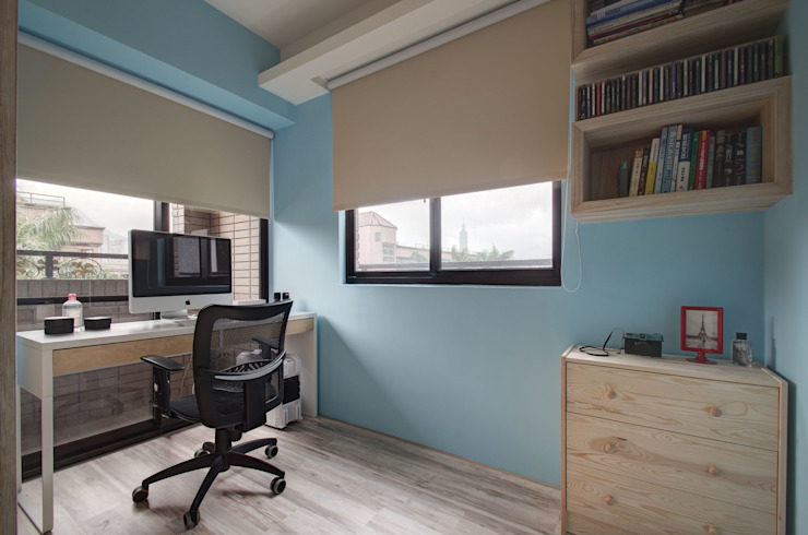 自然樸質 根據 邑舍室內裝修設計工程有限公司 簡約風
