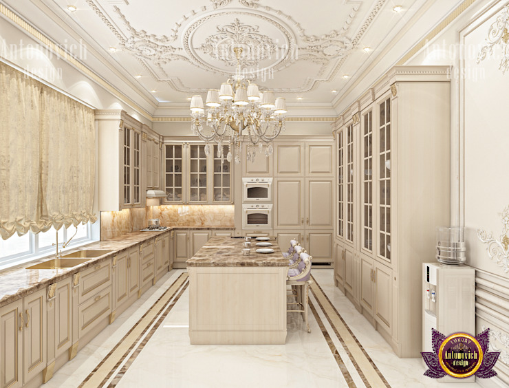 Kitchen of Class and Style by Luxury Antonovich Design