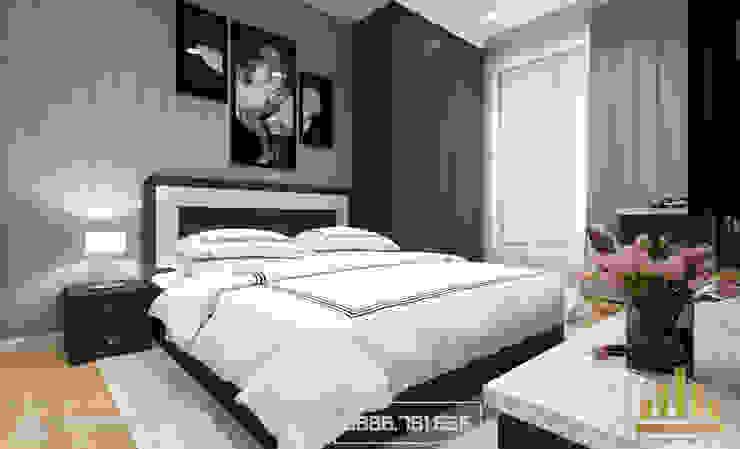 Phòng ngủ Master bởi Thiết kế - Nội thất - Dominer