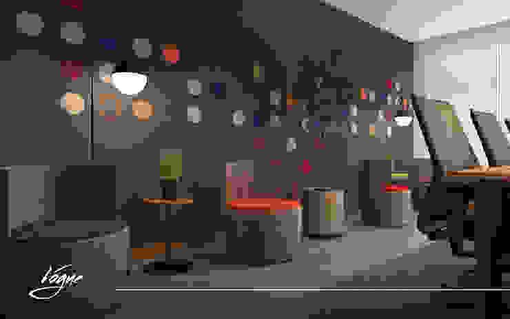 غرفة الإجتماعات: حديث  تنفيذ Vogue Design, حداثي