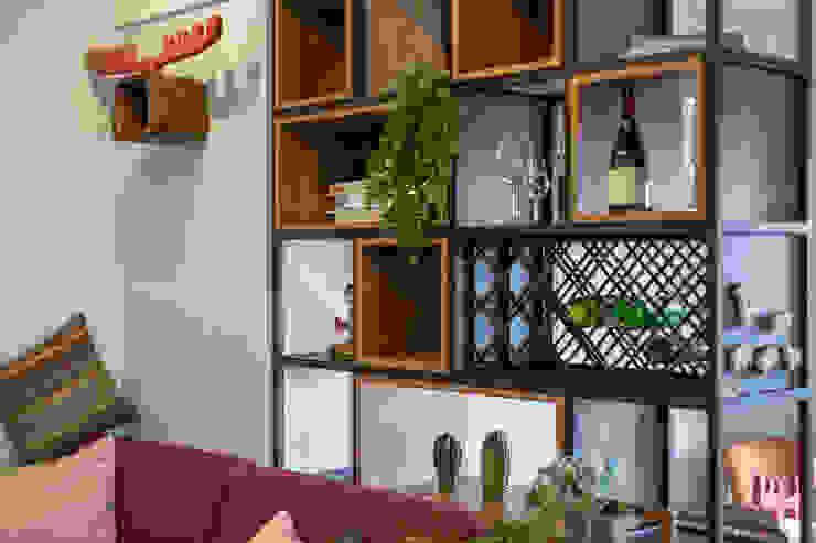自我的個性表答不受約束的心靈-公園1號 富亞室內裝修設計工程有限公司 牆面 實木 Wood effect