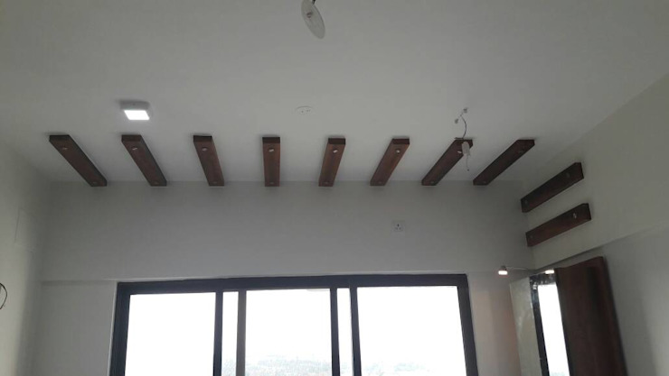 CEILING :  Bedroom by decormyplace,Asian Plywood