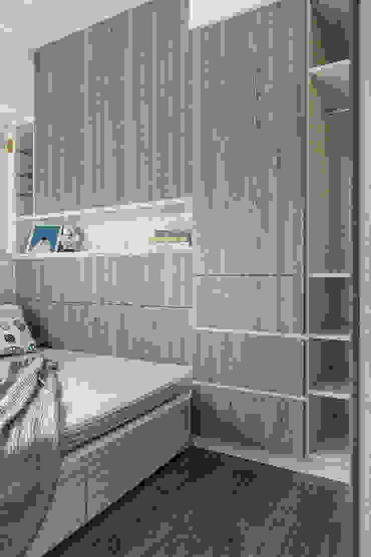 自我的個性表答不受約束的心靈-公園1號 富亞室內裝修設計工程有限公司 小臥室 MDF Green