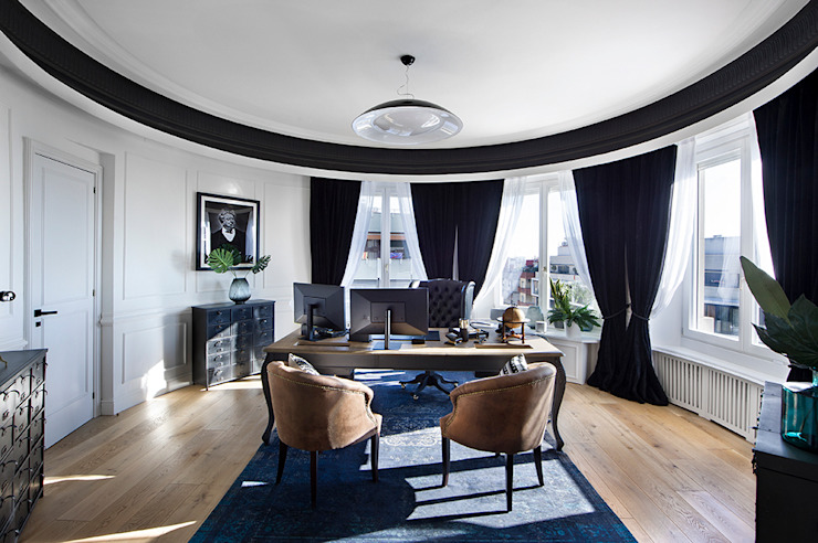 Classic style study/office by Egue y Seta Classic