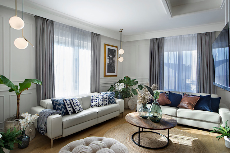 Classic style living room by Egue y Seta Classic