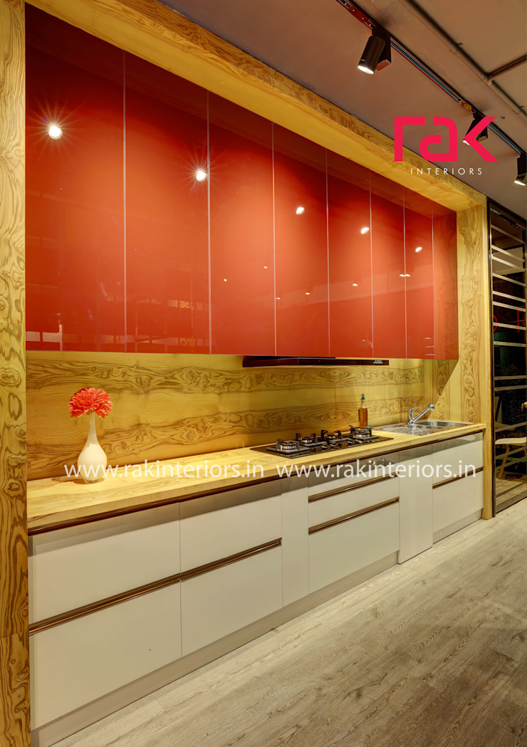 Kitchen interior RAK Interiors KitchenCabinets & shelves