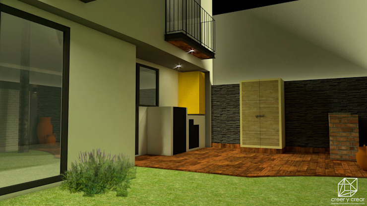 Rock Garden by Creer y Crear. Arquitectura/Diseño/Construcción
