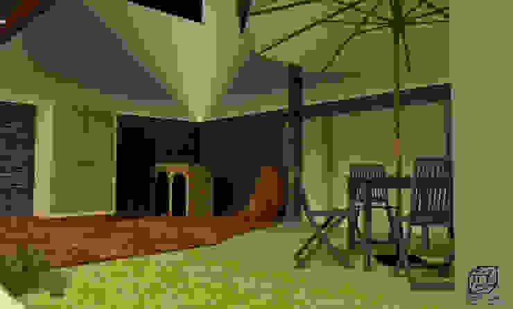 Jardines de piedra de estilo  por Creer y Crear. Arquitectura/Diseño/Construcción,