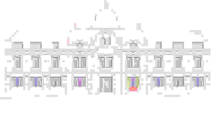 Straßenfassade Planung archipur Architekten aus Wien