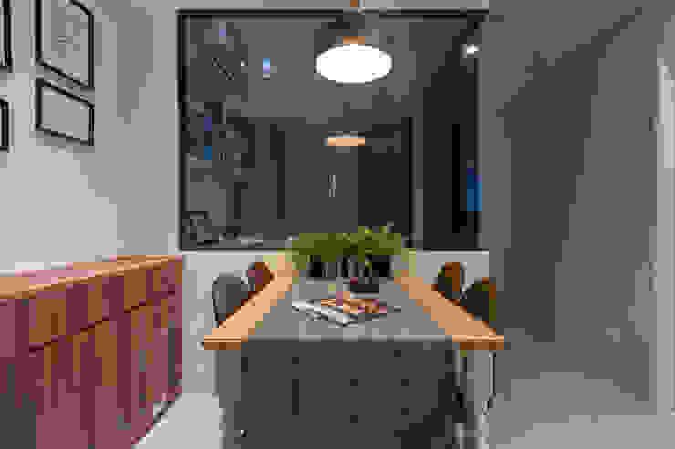 溫馨成家-及第好悅 根據 富亞室內裝修設計工程有限公司 北歐風 實木 Multicolored