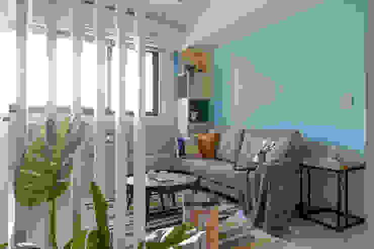溫馨成家-及第好悅 根據 富亞室內裝修設計工程有限公司 北歐風 強化水泥