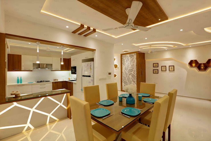 RAK Interiors Modern dining room