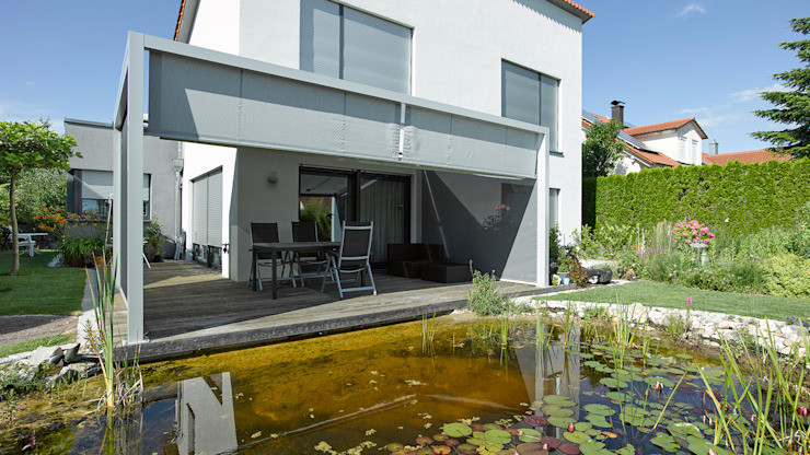 Modern garden by Markisen Zanker im Raum Stuttgart Modern