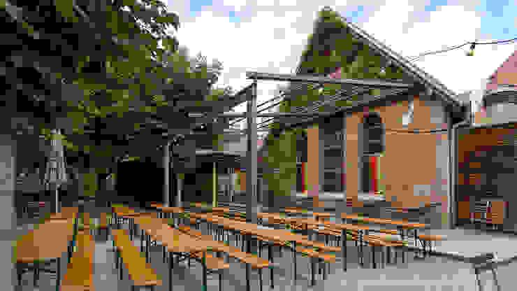 Pergola ohne Bespannung Moderner Balkon, Veranda & Terrasse von Markisen Zanker im Raum Stuttgart Modern