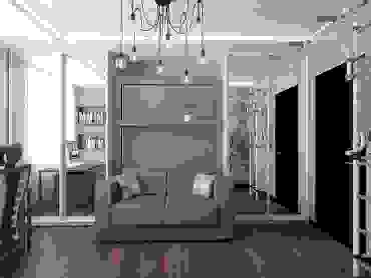 Salas / recibidores de estilo  por Андреевы.РФ, Moderno