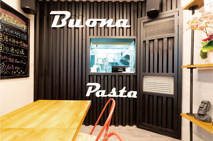 淡水 Buona Pasta 義大利麵 根據 NO5WorkRoom 工業風