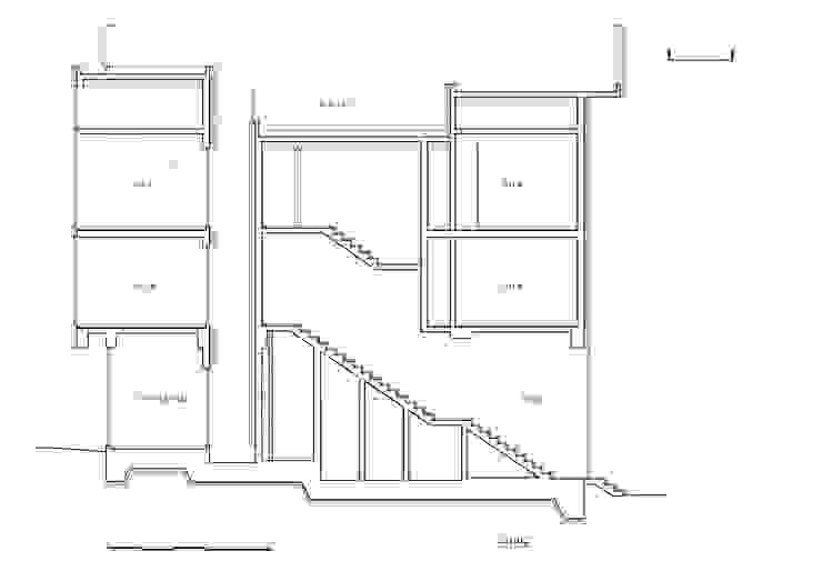 단면도: J2o Design 제이투오의 현대 ,모던