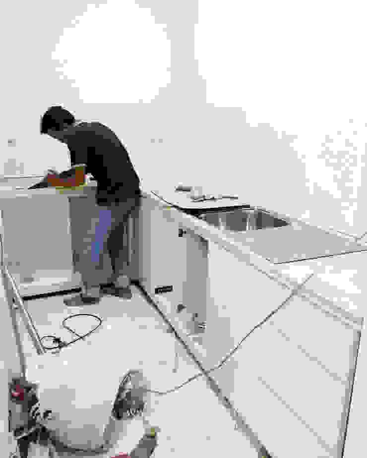 Kitchen Oleh ADEA Studio Minimalis Kayu Lapis