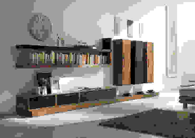 Asian style living room by nuovimondi di Flli Unia snc Asian