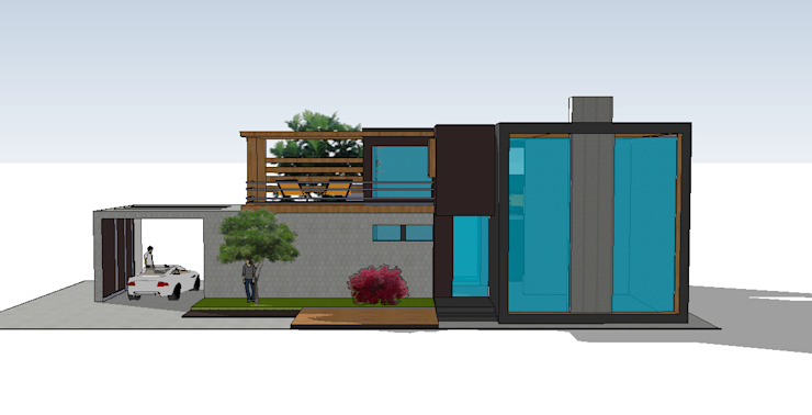 MEF Architect Villas Concrete Black