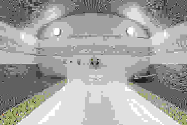 Çilek Spa Design  – Q Sitesi Buhar Odası İşleri:  tarz Hamam,