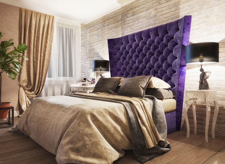 Irina Yakushina Kamar Tidur Klasik Purple/Violet