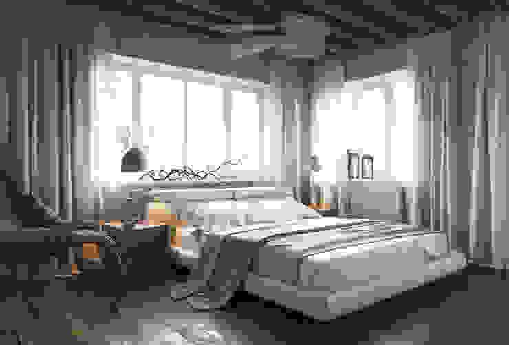 Irina Yakushina Kamar Tidur Tropis Beige