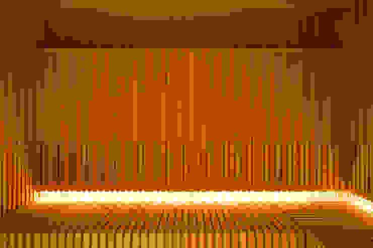 Çilek Spa Design Modern spa Wood Wood effect