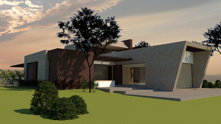 Single family home by diseño con estilo ... sas, Modern