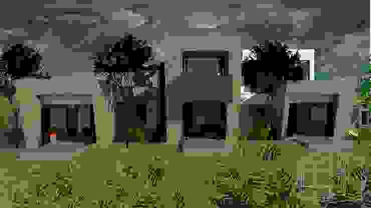Zona Privada Casas modernas de diseño con estilo ... sas Moderno