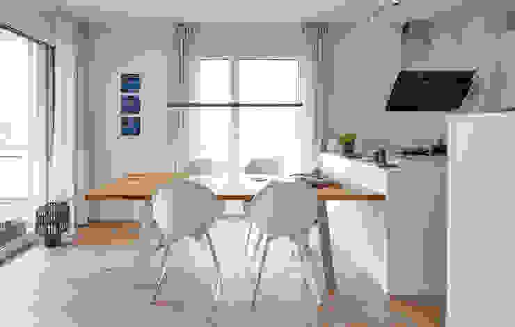 Esstisch Tadao: modern  von DOMANI INTERIOR. Möbel. Art. aus Freiburg,Modern Beton