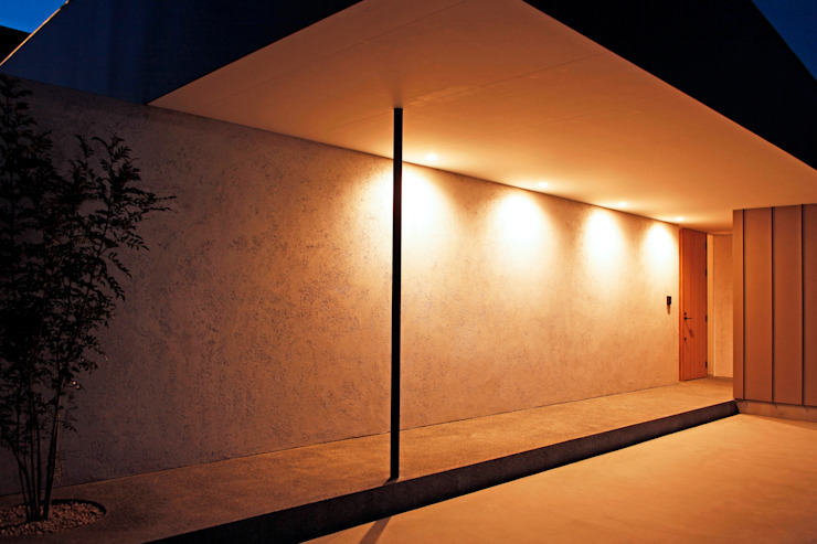 kisetsu Ingresso, Corridoio & Scale in stile moderno