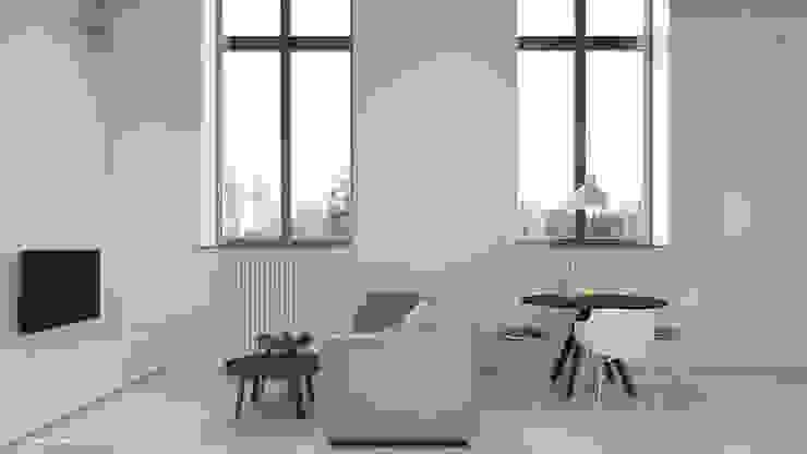 Salones de estilo minimalista de KOSAKOWSKI STUDIO Minimalista