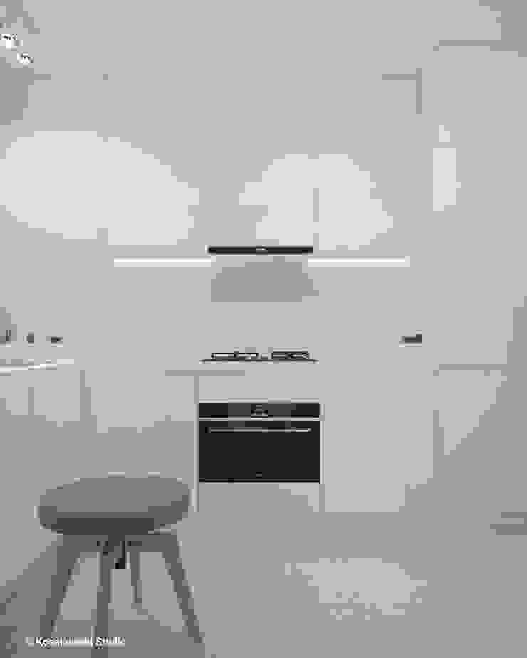 Cocinas de estilo minimalista de KOSAKOWSKI STUDIO Minimalista