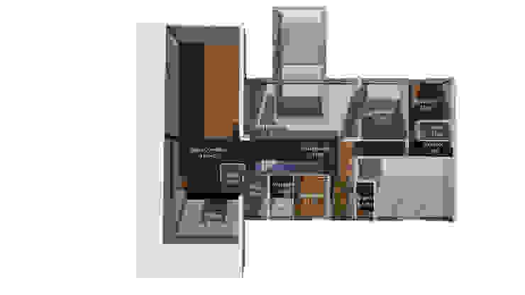 حديث  تنفيذ Trenta Casas Prefabricadas de Hormigón en Madrid , حداثي