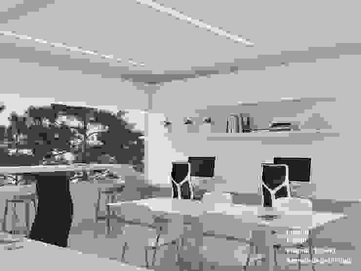 Agencia de publicidad. Pragma - Diseño Oficinas y Tiendas Blanco