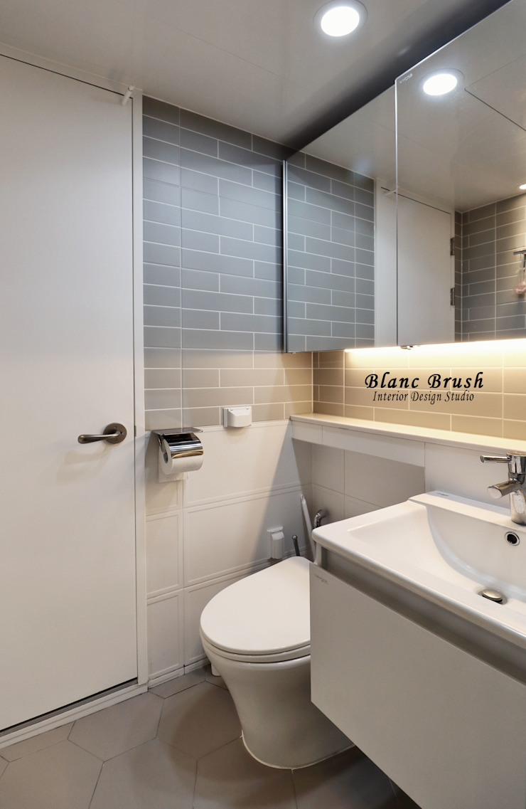 블랑브러쉬 Modern bathroom