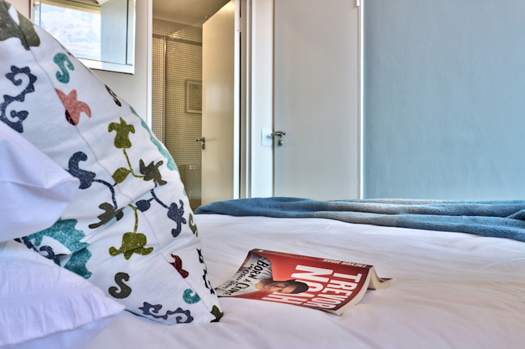 Perspectives City Views Modern style bedroom by Studio Do Cabo Modern