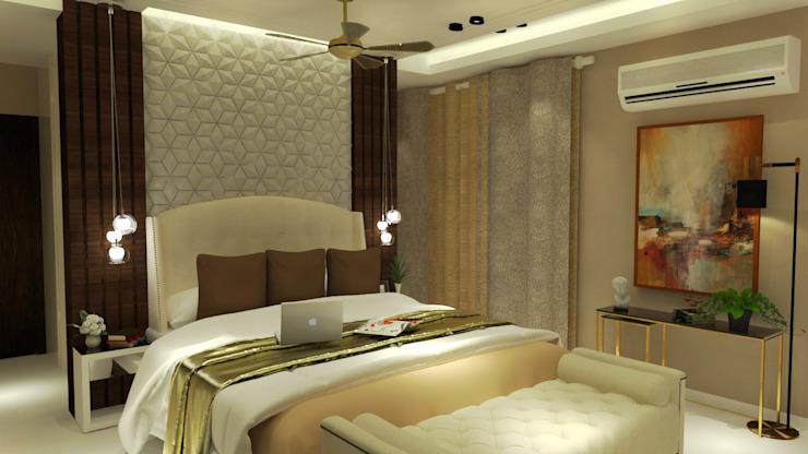 Daughter's Bedroom Modern style bedroom by Inaraa Designs Modern