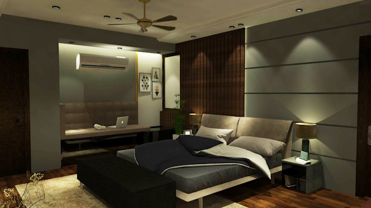 Son's Bedroom Modern style bedroom by Inaraa Designs Modern