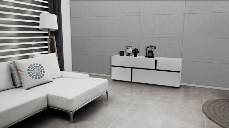 Modern walls & floors by Loft Design System Deutschland - Wandpaneele aus Bayern Modern Concrete