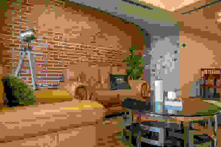 懷舊復古風-看見不一樣的風格與靈魂-全坤峰華 根據 富亞室內裝修設計工程有限公司 日式風、東方風 磚塊