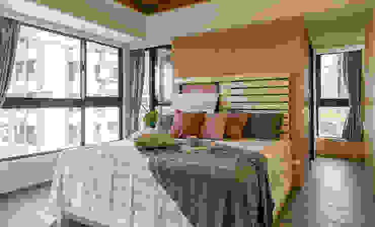 懷舊復古風-看見不一樣的風格與靈魂-全坤峰華 根據 富亞室內裝修設計工程有限公司 隨意取材風 砂岩