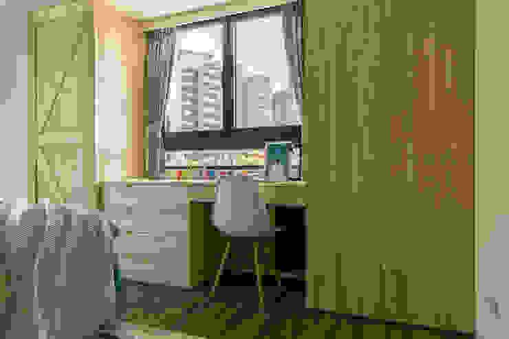 懷舊復古風-看見不一樣的風格與靈魂-全坤峰華 根據 富亞室內裝修設計工程有限公司 隨意取材風 MDF