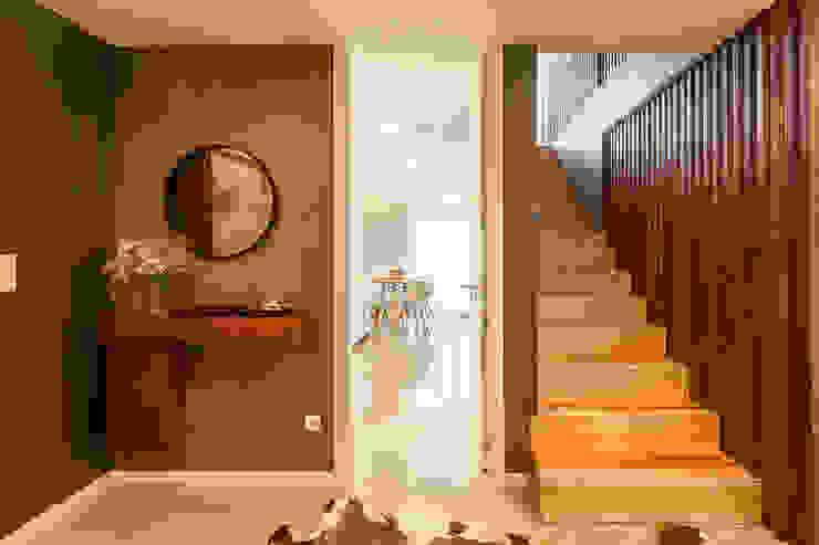 모던스타일 복도, 현관 & 계단 by SHI Studio, Sheila Moura Azevedo Interior Design 모던