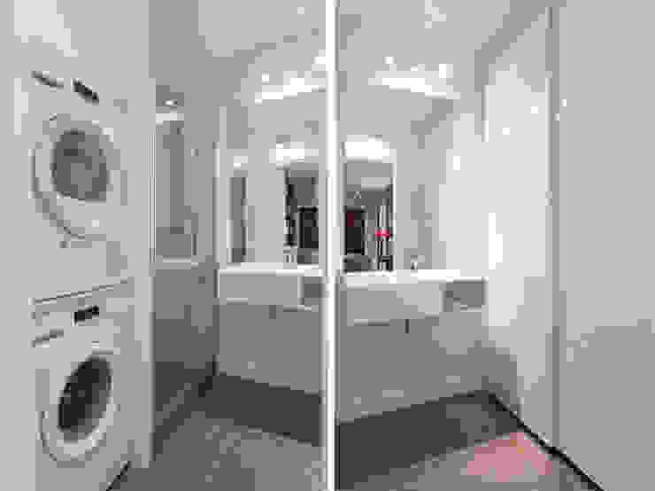 Modern style bathrooms by Fables de murs Modern Glass