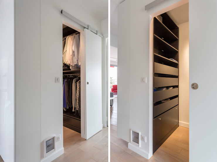 Modern style dressing rooms by Fables de murs Modern MDF