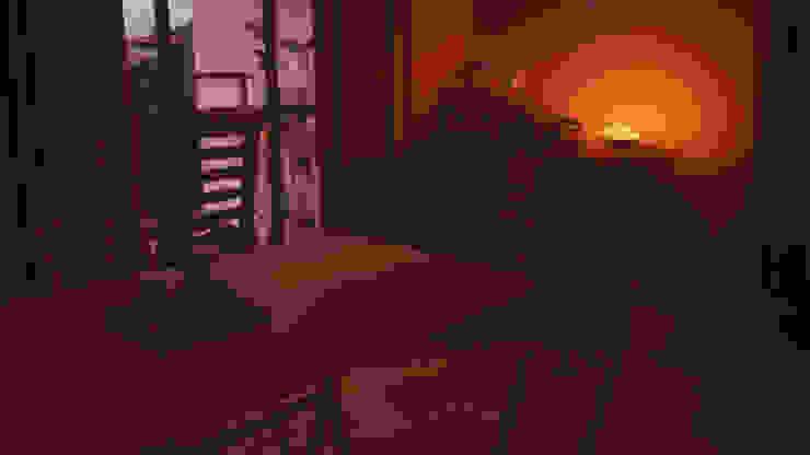 CrimsonViz Eclectic style dining room Wood effect